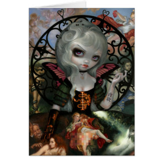 """Unseelie Court:  Lust"" Greeting Card"