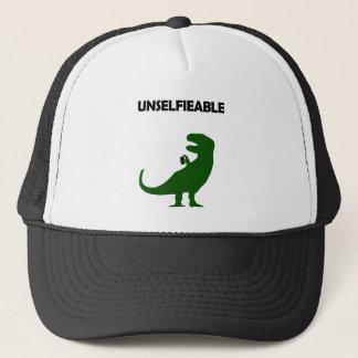 Unselfieable T-Rex Trucker Hat