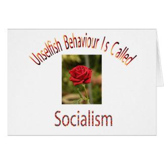 Unselfish Behaviour Greeting Card