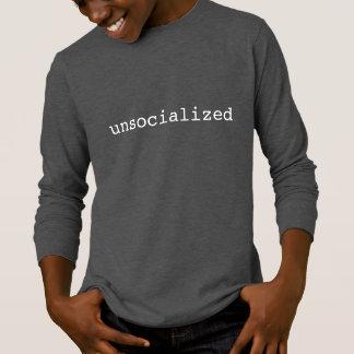 Unsocialized long sleeve kid's tee