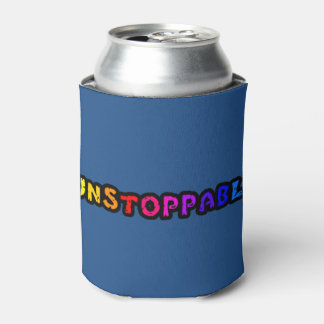 Unstoppable (multi-colored text) can cooler