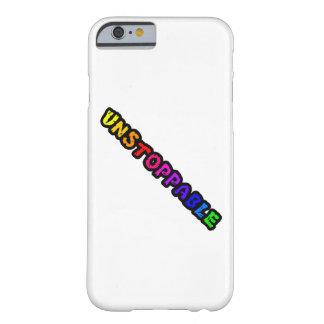 Unstoppable text design phone case