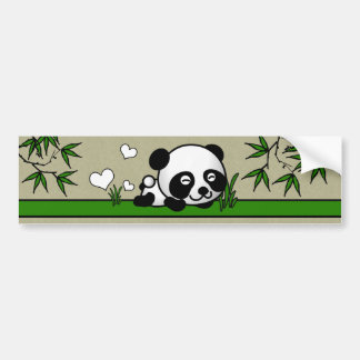 Unsuspecting Panda Bumper Sticker