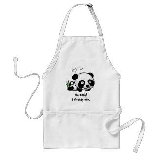 Unsuspecting Panda Standard Apron