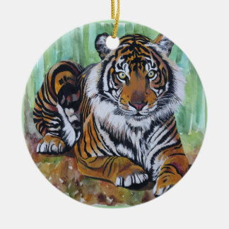 Untamed Beauty Christmas Ornament
