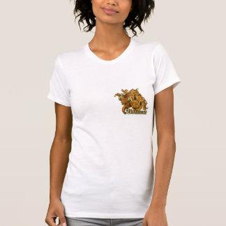 untamed tiger grunge vector art design shirts