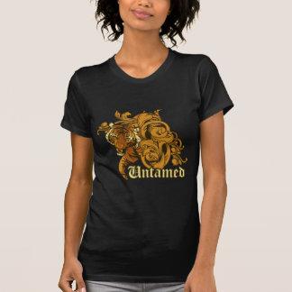 untamed tiger grunge vector art design tshirts