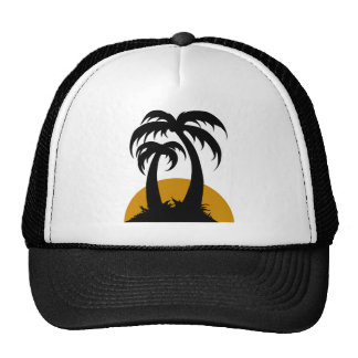 Unter Palmen Mesh Hats