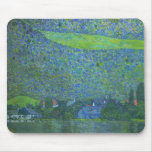 Unterach at Attersee by Gustav Klimt Victorian Art Mouse Pads