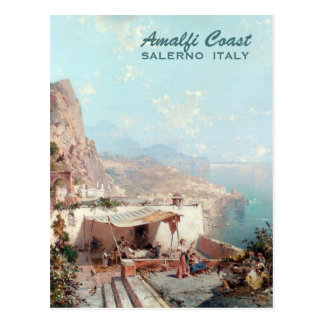 Unterberger's Amalfi custom art postcard