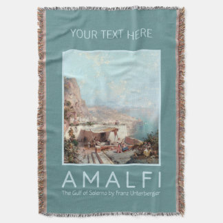 Unterberger's Amalfi custom throw blanket