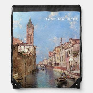 Unterberger's Venice custom backpack