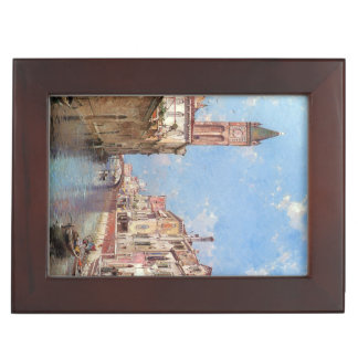Unterberger's Venice custom keepsake box