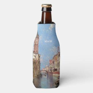 Unterberger's Venice custom monogram bottle cooler