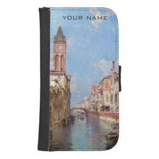 Unterberger's Venice custom monogram phone wallets
