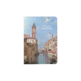 Unterberger's Venice custom name passport cover
