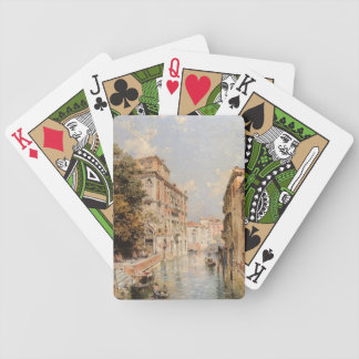 Unterberger's Venice playing cards