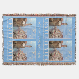 Unterberger's Venice throw blanket