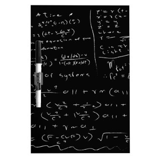 Untidy Chalk Board Dry Erase Board