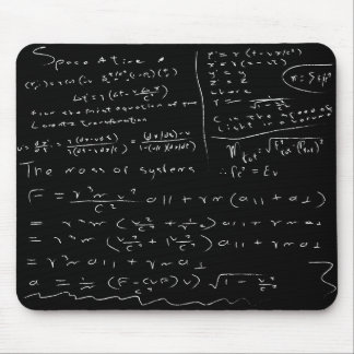 Untidy Chalk Board Mouse Mat