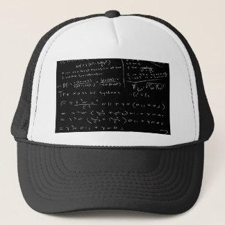 Untidy Chalk Board Trucker Hat