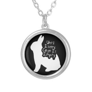 Until Every Cage is Empty (ALF) Silver Plated Necklace