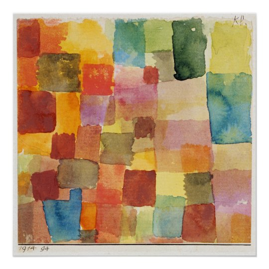 Untitled Abstract by Paul Klee Poster