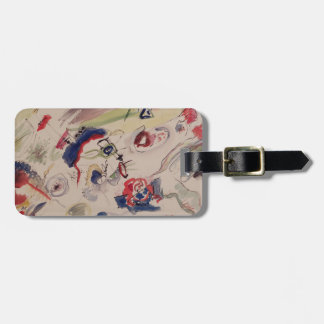 Untitled - First Abstraction, 1910 Luggage Tag