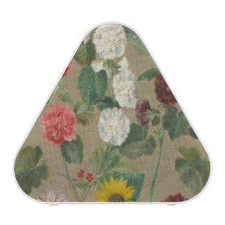 Untitled (Flowers) (oil on board)