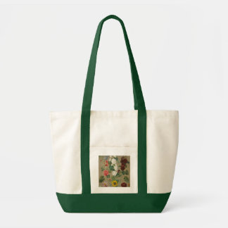Untitled (Flowers) (oil on board) Tote Bag