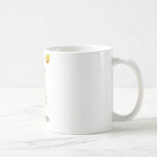 Untitled Woman and Sun Coffee Mug