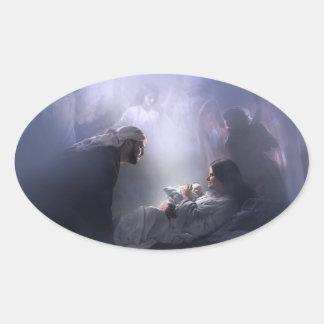 Unto Us, the nativity stickers