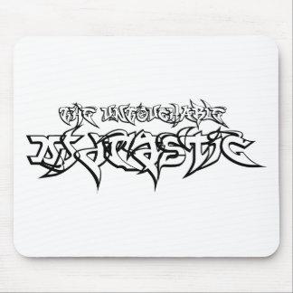 Untouchable DJ Drastic Logo Mouse Pad