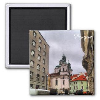 Untouched City, Prague Square Magnet