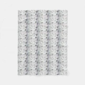 Unusual Bird Foot Print Fleece Blanket