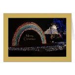 Unusual Christmas Card -- Rainbow