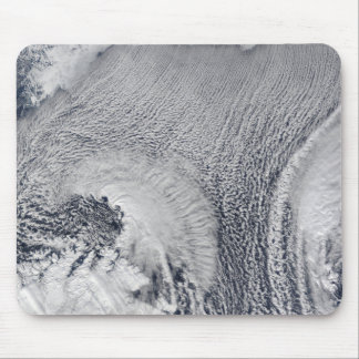 Unusual cloud formations over the Barents Sea Mouse Pad