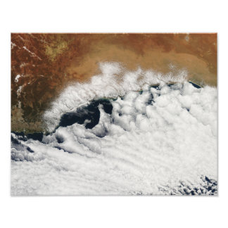 Unusual cloud formations photo print