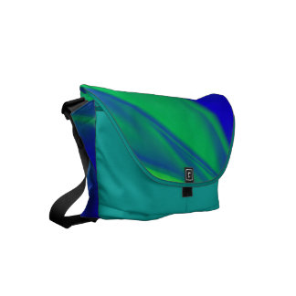 Unusual Color Combo Commuter Bags