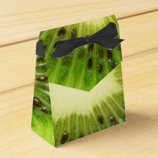 Unusual Fresh Green Kiwi Fruit Favour Box