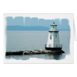Unusual Lighthouse Greeting Card