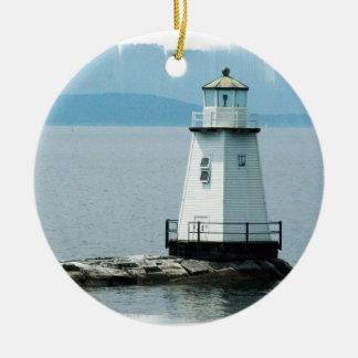 Unusual Lighthouse Ornament