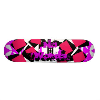 Unusual Skateboard Floating Squares 4 CricketDiane
