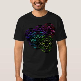 Unusual Spectrum Geometric Urban Futurism Tshirt