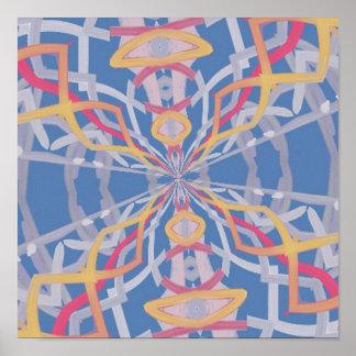 Unusual Strange pattern Print
