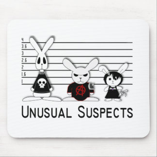 Unusual Suspects Mouse Pads