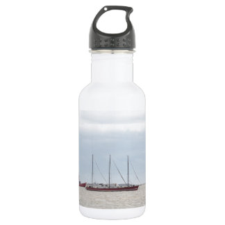 Unusual Three Masted Sailing Vessel 532 Ml Water Bottle