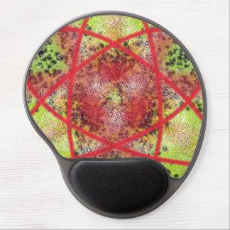 Unusual trendy pattern gel mouse mats