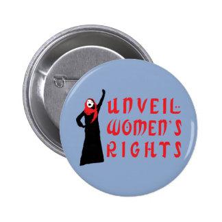 Unveil Muslim Women's Rights 6 Cm Round Badge