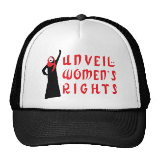 Unveil Muslim Women's Rights Trucker Hats